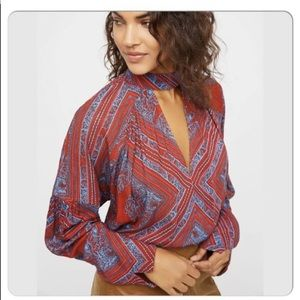 Free people walking on a dream tunic size small